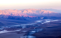 First Light on Panamint Mountains