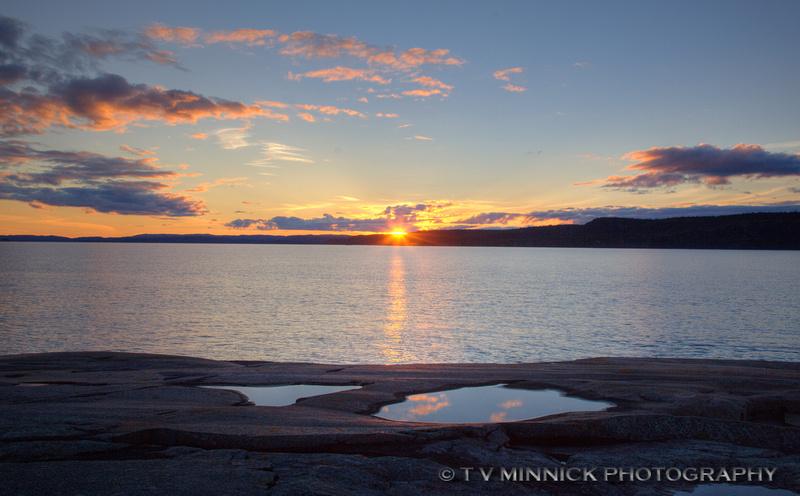 Sunset from Prisoner Point