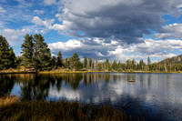 Sprague Lake and Clouds